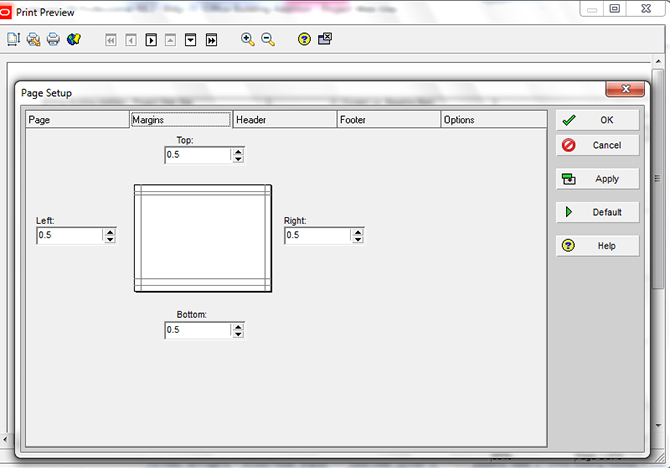 Printing Layouts in Primavera P6