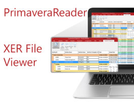 a review of PrimaveraReader xer viewer