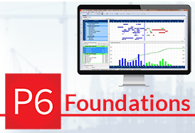 Primavera P6 Foundations v19 Ondemand course
